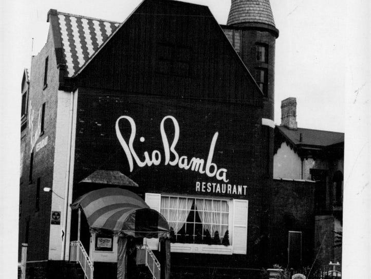The former Rio Bamba Restaurant.
