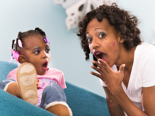 Shatalya Fields and her daughter Amarria Burrell.