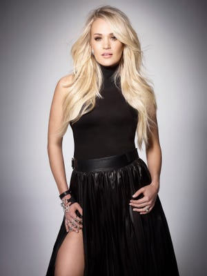 "Carrie Underwood's album ""Cry Pretty"" will be in stores Sept. 14."
