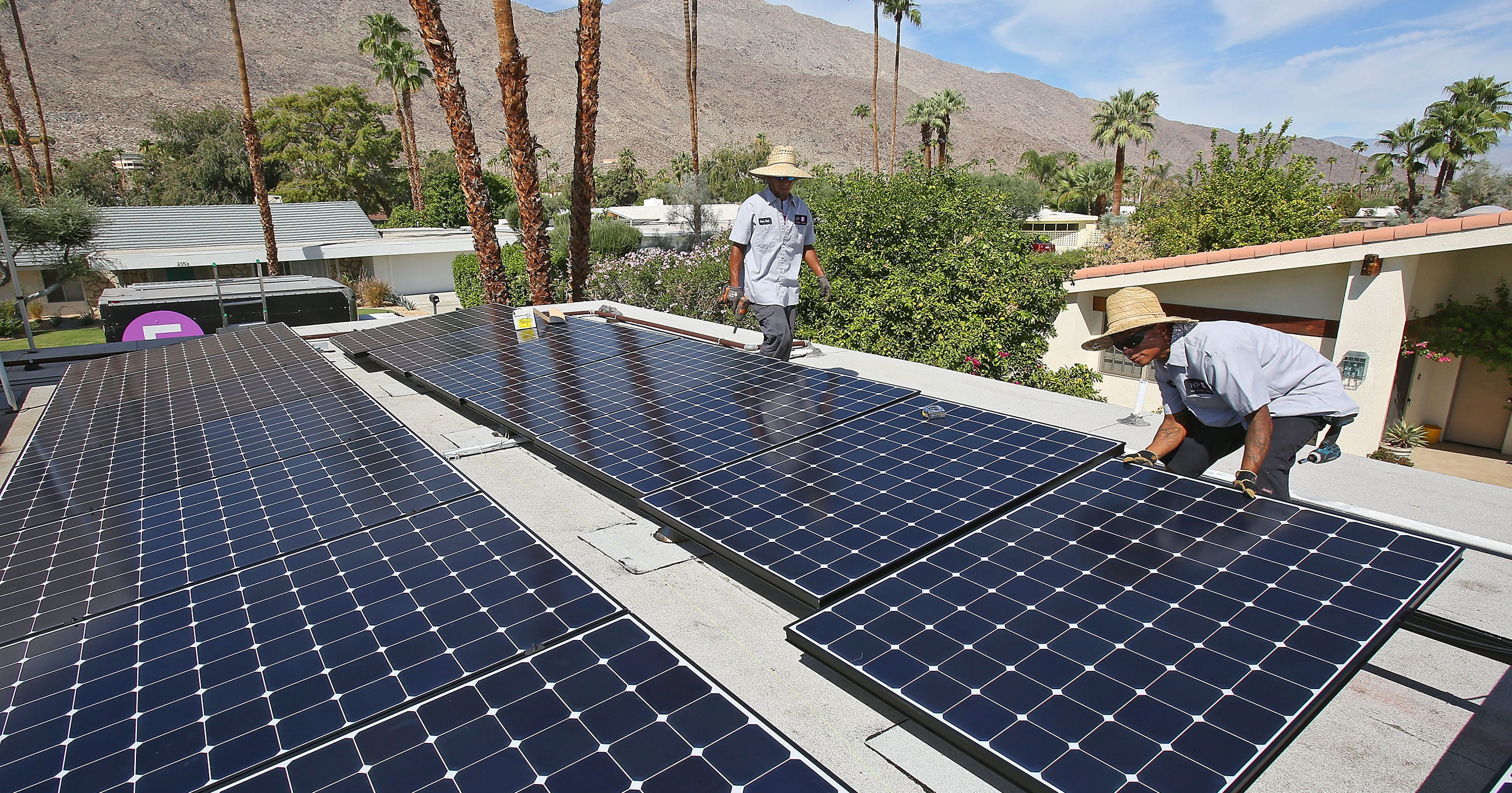 Riverside County Could Order Iid To Bring Back Rooftop Solar Program Ford Panel Roof