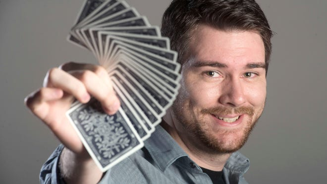 Nathan Nickerson is an esteemed local magician and member of the Gulf Coast Magician's Guild.