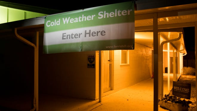 Santa Rosa County's cold weather shelter for the homeless and those living without heat will open Sunday at Ferris Hill Baptist Church in Milton.
