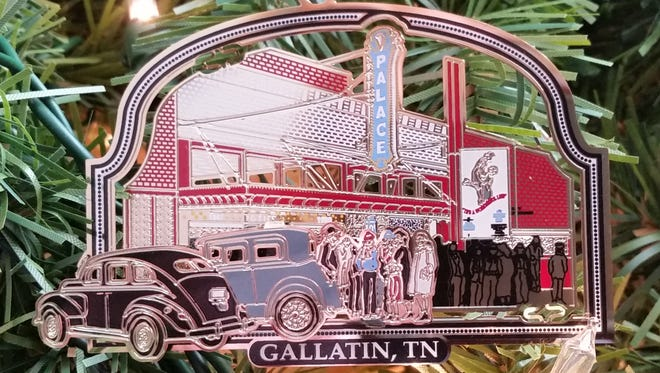 The Gallatin Area Chamber of Commerce is offering it's sixth commemorative Christmas ornament which depicts The Palace Theatre.