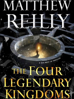 "This cover image released by Gallery Books shows, ""The Four Legendary Kingdoms,"" by Matthew Reilly."