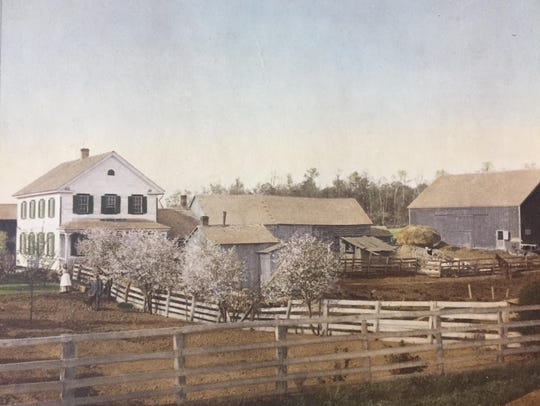 The Maurer Farm in the late 1800s.