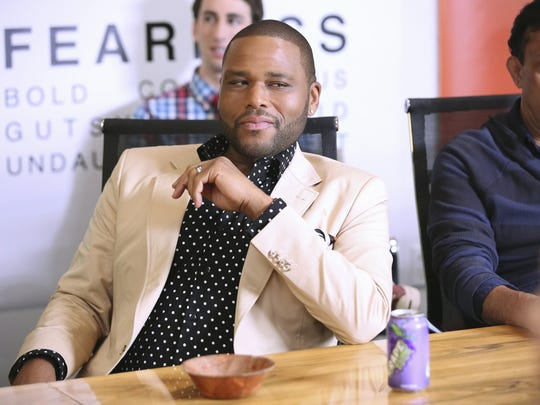 "Anthony Anderson plays a family man in the new comedy ""Black-ish,"" premiering Wednesday on ABC."