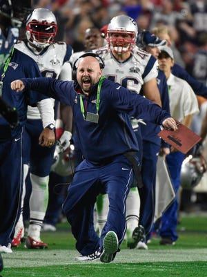Brian Daboll is leaving the New England Patriots coaching staff to be Alabama's offensive coordinator.