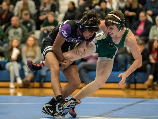 Lakeview's Armando Callejas is one of the top wrestlers in his weight division in the area. But is he the best. It's up to Enquirer readers to vote.