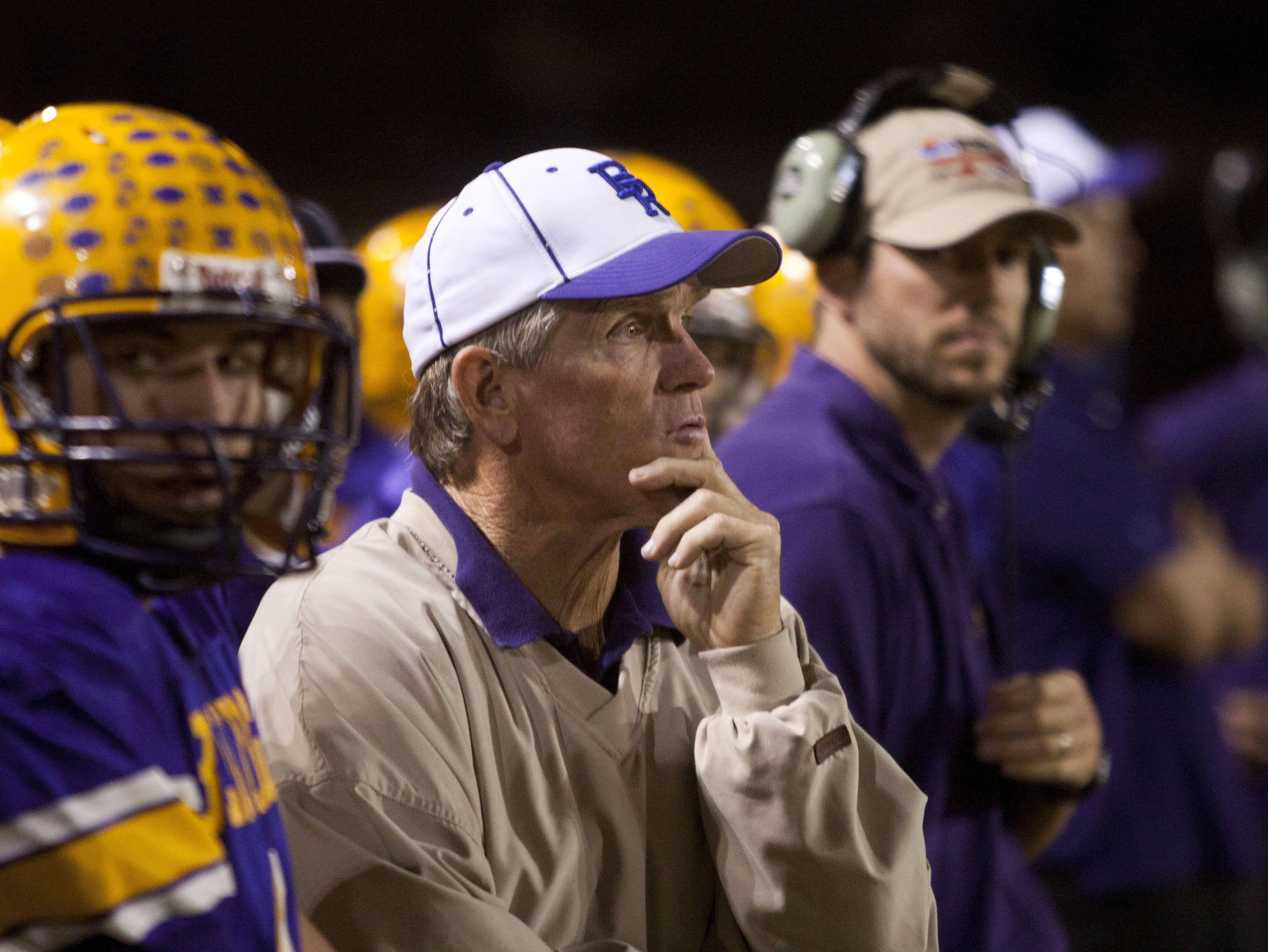 Paul Moro won 13 high school football state championships at Lakeside Blue Ridge.