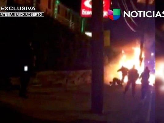 Screenshot of video of bystander