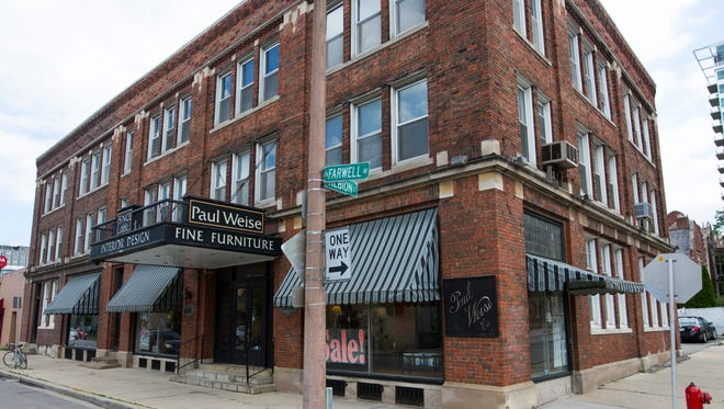 The Paul Weise Furniture building is being nominated for historic status, which could affect possible development plans.
