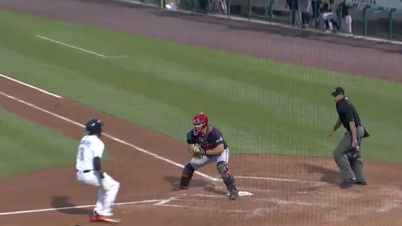Phillies prospect completes an inside-the-park grand slam with a jaw-dropping slide