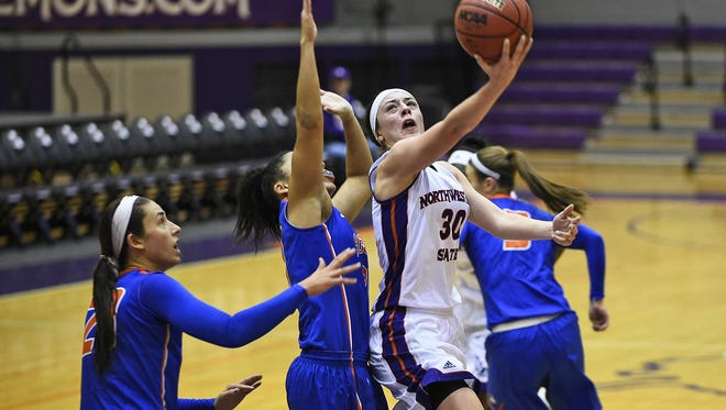 Beatrice Attura leads Northwestern State against Texas A&M Corpus-Christi.