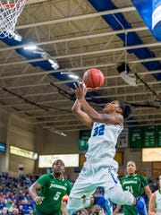 Leading scorer Rosemarie  Julien and FGCU have the