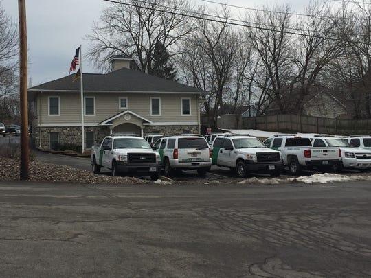 U.S. Border Patrol station in Irondequoit.