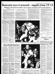 BC Sports History - Week of Oct. 8, 1975