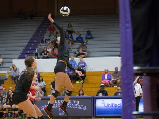 Wapahani won in the fifth set against Central Monday