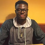 Linus Segbe is a junior at St. Cloud Tech who is ineligible for varsity sports because of his unusual transfer from a high school in Maryland.