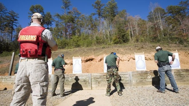 Testing is ongoing at SCC's firing range in Jackson County.