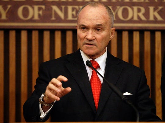 Former New York City police commissioner Raymond Kelly