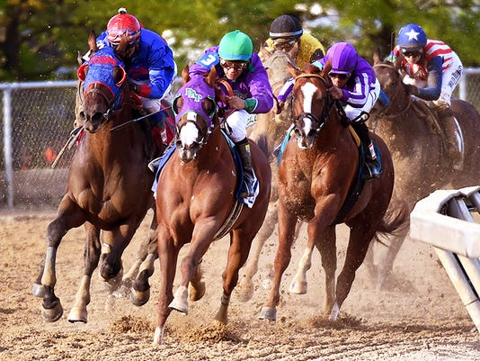 The 139th running of the Preakness Stakes.