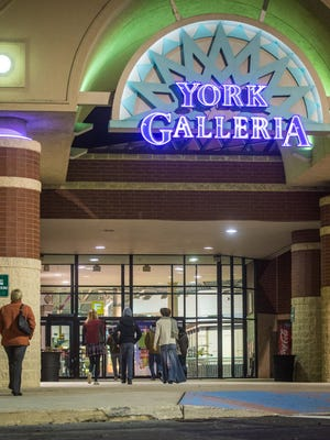 York Galleria will be closed on Thanksgiving Day and will open at 6 a.m. on Black Friday. The mall's owner, Chattanooga, Tennessee-based CBL & Associates Properties, is closing its malls around the country on Thanksgiving Day. Mall tenants, including department stores and retailers with exterior entrances, will have the option of staying open.