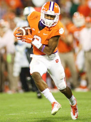 Receiver Demarre Kitt, who committed to CSU's football program on Sunday, played one season at Clemson and another at Highland Community College in Kansas.
