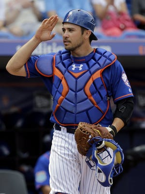 Travis d'Arnaud hit only four homers in 2016 after slugging 12, plus three in the postseason, in 2015.