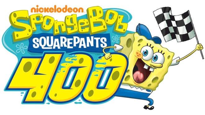 The SpongeBob SquarePants 400 is name of NASCAR race at Kansas Speedway.