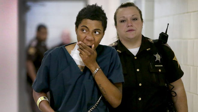 Simeon Adams, shown in this 2014 file photo, was sentenced to 12 years in prison in the shooting of Erick Bell Douglas. Adams, 18, is serving a 55-year sentence for the murder of Nathan Trapuzzano.