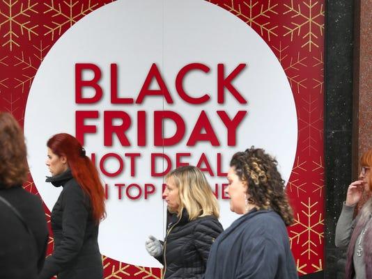EPA BRITAIN RETAIL BLACK FRIDAY EBF CONSUMER GOODS GBR