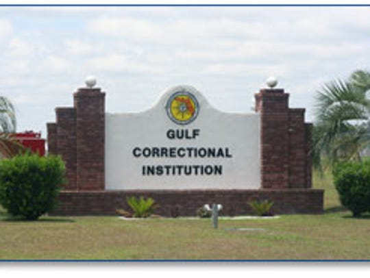 Inmates at Gulf Correctional Institution injured six