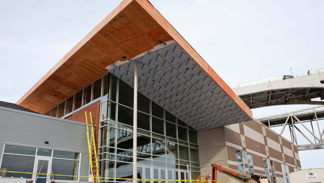 Construction is about 80% completed at the site of the Blue Water Area Convention Center in Port Huron.