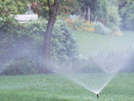 Sprinklers in Reo