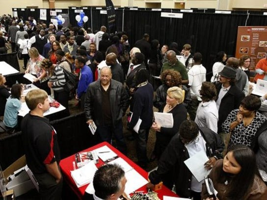 Memphis Urban League's job fair was inside Hilton Memphis, 939 Ridge Lake Boulevard.