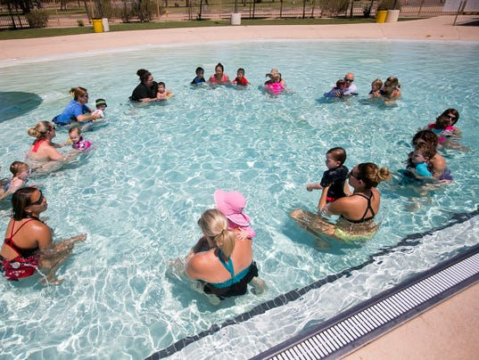 Valley Swimming Lessons Target Younger Kids