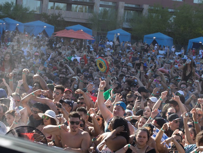 Deorro kicked off pool party season at Talking Stick