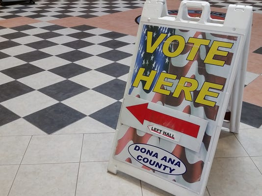 Voting sign photo