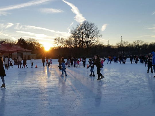 Middlesex County's popular Roosevelt Park Family Ice
