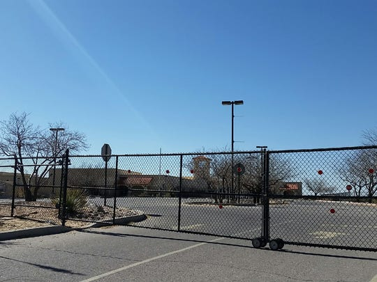 Three Doña Ana Community College centers in southern Doña Ana County, including this one in Anthony, N.M., were closed Wednesday because of a papal visit to Juárez.