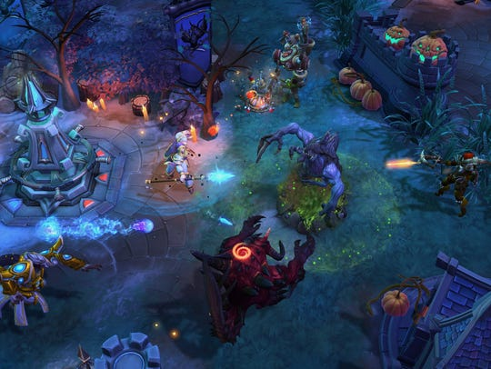 """Heroes of the Storm"" features a collection of Blizzard"