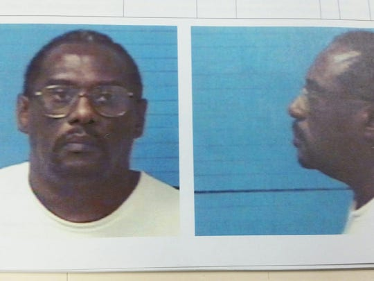 Mugshot of Larry Russell Dawson after his 2003 arrest in Williamson County.