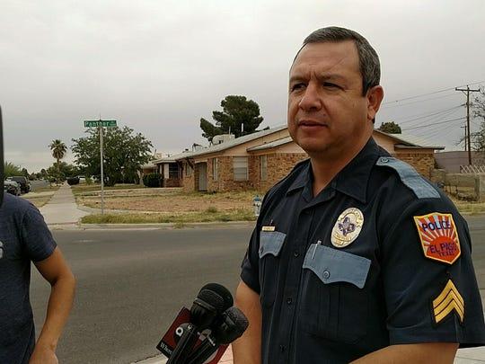 EPPD spokesman Sgt. Enrique Carrillo