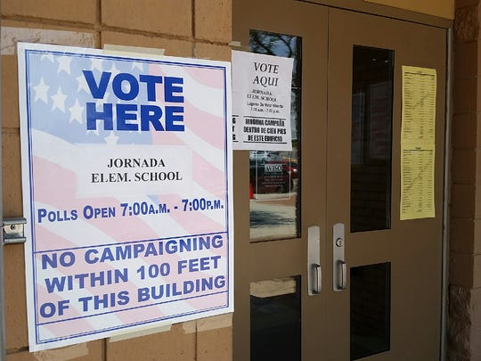 Shortly after 2 p.m. Tuesday, about 400 voters had