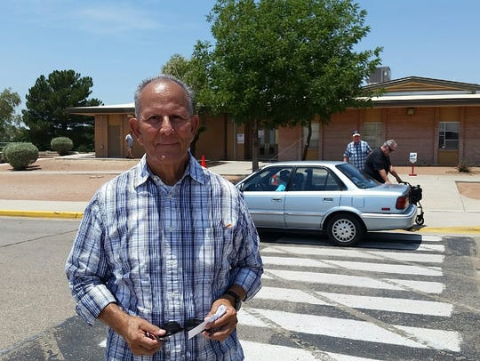 Las Cruces resident Leo Hernandez, who lives in an