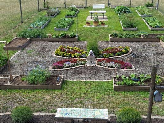 The Francis A. Desmares School Garden