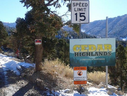 Cedar Highlands