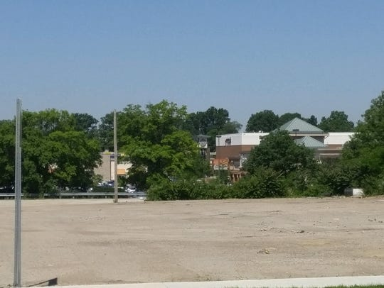 Land just east of the Anderson Towne Center has sat