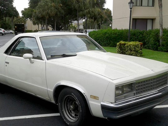 Larry Roberts owned a few collector cars, including an '85 Chevy El Camino he doted on.