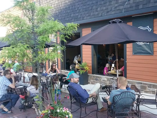 Beer Snobs Ale and Eats has patio seating and 24beers on tap.